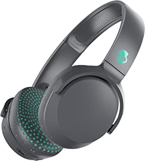 Skullcandy Riff Wireless Headphones, Gray/Speckle/Miami