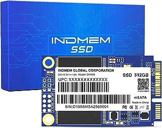 INDMEM DMMS mSATA SSD 512GB 内蔵Mini SATA III SSD 500GB Micro-SATA MLC 3D NANDフラッシュ 512G