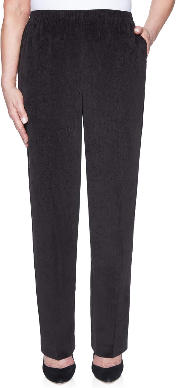 Alfred Dunner Women's Plus Size Classic Regular (Medium) Length Cord Pant