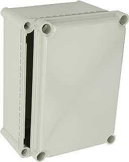 BUD Industries NBD-10442 Style D Plastic Indoor Box with Solid Door, 11-1/64