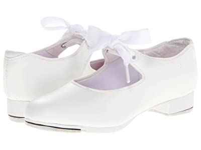 Capezio Kids Jr. Tyette N625C (Toddler/Little Kid) (White) Girls Shoes