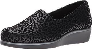 حذاء حريمي سهل الارتداء من SAS Bliss مقاس 6 B(M) US أسود مرقط