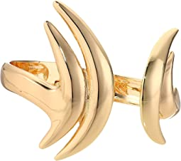 Robert Lee Morris - Gold Curved Hinge Bangle