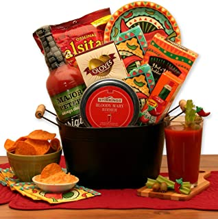 Bloody Mary Mixer Drink Gift Basket