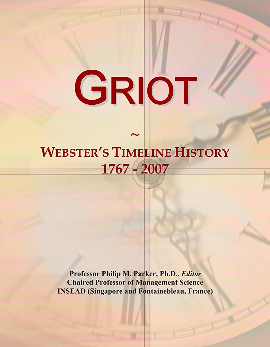 高さメトロポリタンとげGriot: Webster's Timeline History, 1767 - 2007