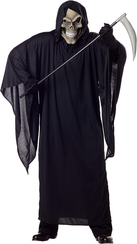 Men's Plus High material Size Reaper Limited price Grim Costume