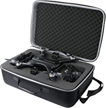 co2crea Hard Travel Case for Holy Stone HS700 FPV Drone 1080p HD Camera Live Video GPS Return Home RC Quadcopter (Black Ca...