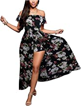 Best floral maxi romper dress Reviews