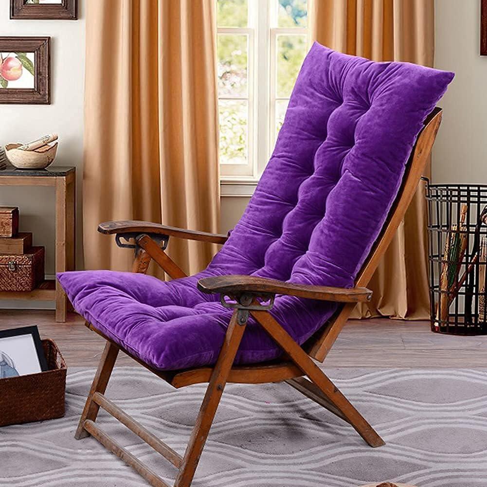 HONGREN Deck Chair Cushions with Binding Cush seat Relaxer Cord Long-awaited It is very popular