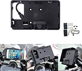 Coolsheep Mobile Phone Holder GPS Navigation Stand Bracket with USB Charger for BMW R1200GS LC ADV S1000XR R1200RS