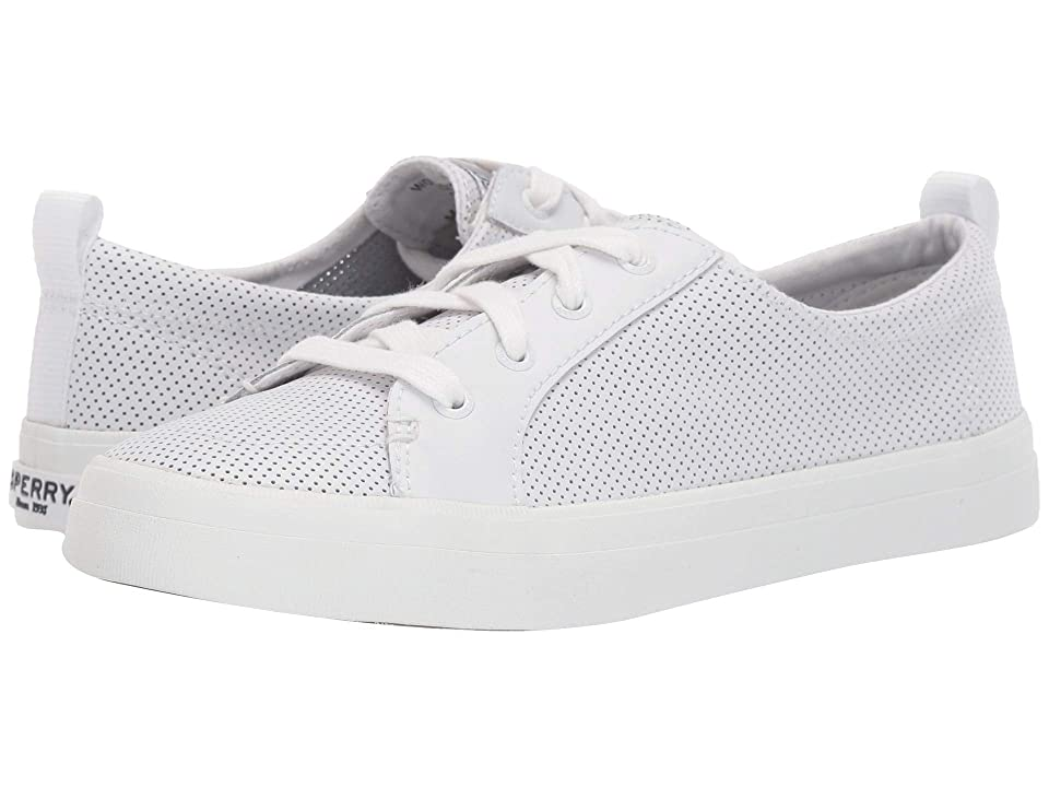 Sperry Crest Vibe Mini Perf (White) Women