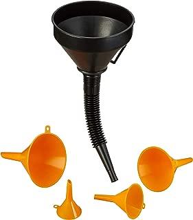 Trichter Set Werkzeug für Werkstatt Einfülltrichter Satz 4-tlg Fülltrichter Kfz