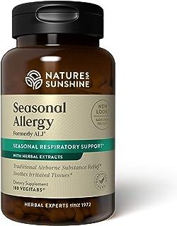 Nature's Sunshine Seasonal Allergy, 180 VegiTablets