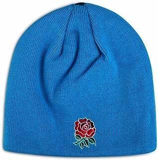 2016-2017 England Rugby Acrylic Bobble Beanie (Blue)