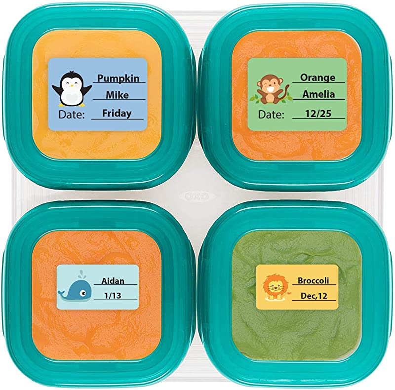 Baby Food Labels Write On Date Labels For Food Storage Containers Baby Bottles Great For Daycare Food Storage Pack Of 128 Food Labels