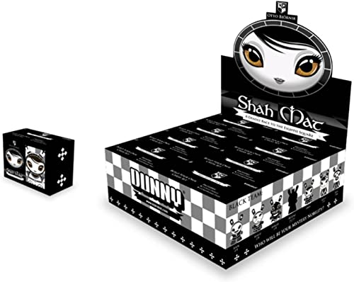Kidrobot Dunny Chess Series Shah Mat schwarz Blind Box Vinyl Figures by Kidrobot