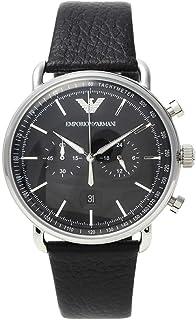 Emporio Armani Aviator Analog Black Dial Men's Watch - AR11143