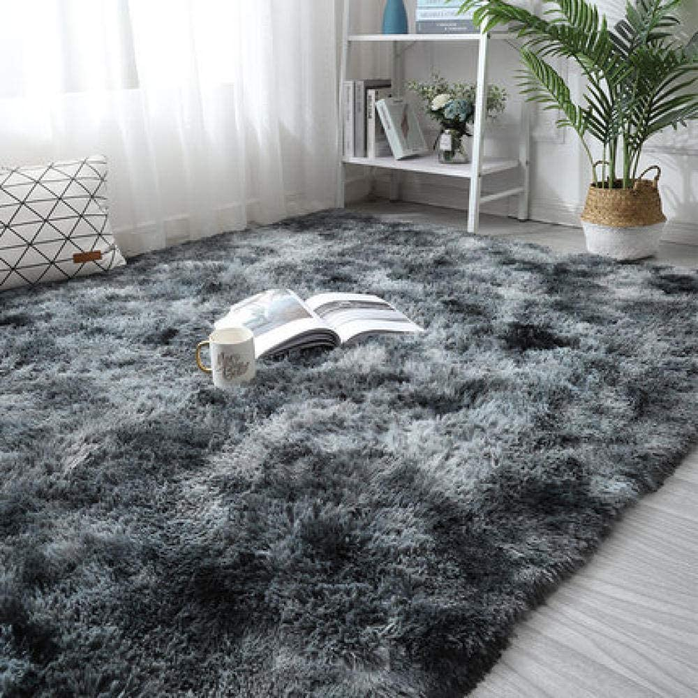 ZXCVB Rainbow Carpet Gradient NEW Tie-Dye Coffee Room Plush T Living Max 46% OFF