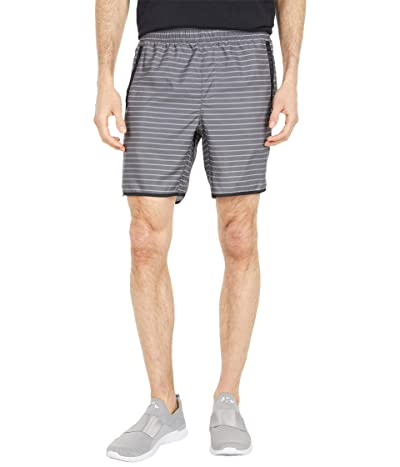 RVCA Yogger IV Shorts (Slate Stripe) Men
