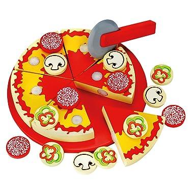 Bino 83412 Pizza for Slicing, Size-20.5 x 3.5 x 20.5 cm, Multicolour