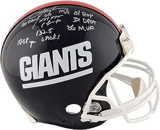 lawrence taylor autographed helmet