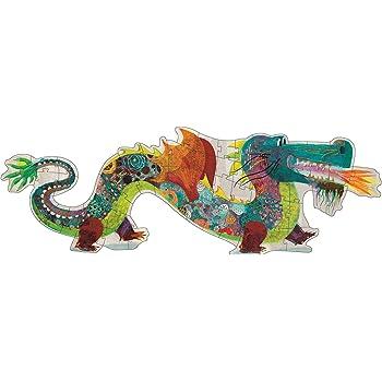 Hotaling Inc 58 pc DJECO Leon the Dragon Giant Puzzle DJ07170