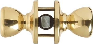 Kwikset 92001-519 Mobile Home Hall & Closet Door Knob in Polished Brass