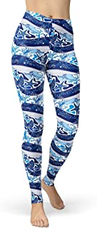 Women's Under The Sea Printed Leggings High Waist Brushed Buttery Soft Pants