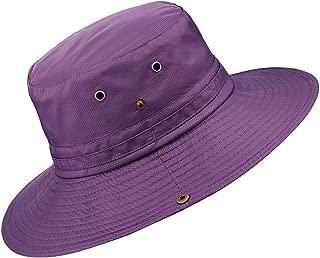 Solid Color Bucket Hat, Sun Protection Outdoor Fishing Garden Boonie Cap