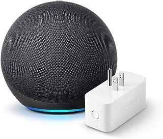 Echo (4th gen.), Charcoal with Amazon Smart Plug