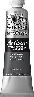 Winsor & Newton Artisan Water Mixable Oil Colour, 37ml Tube, Paynes Gray