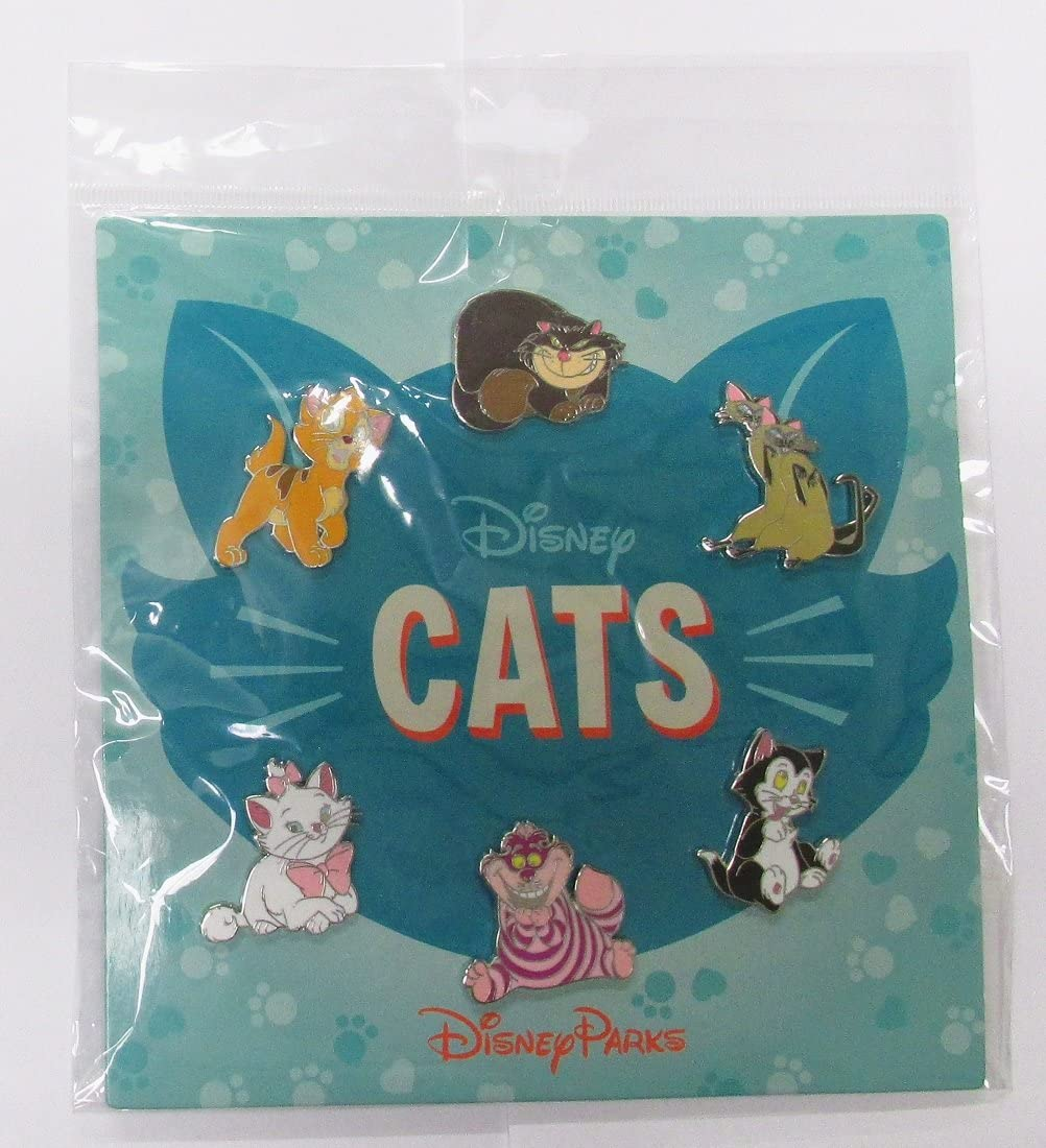Max 88% OFF Disney Pins HKDL Cats 6 Pin Marie - Al sold out. Set Cheshire Booster