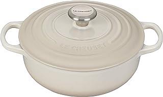 Le Creuset Enameled Cast Iron Signature Sauteuse Oven, 3.5 qt., Meringue