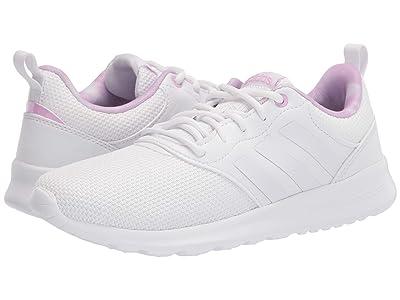 adidas Running QT Racer 2.0 (White/White/Lilac) Women