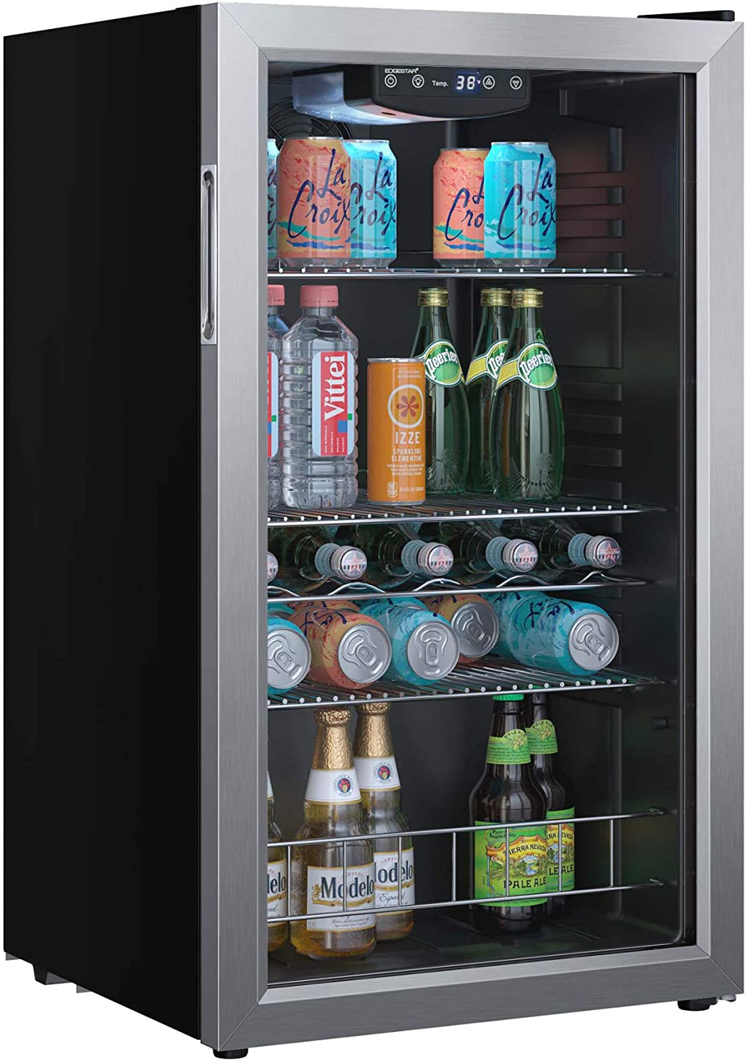 EdgeStar BWC121SS 19 Inch Wide 105 Cool Extreme Inexpensive Can Capacity Bev Selling