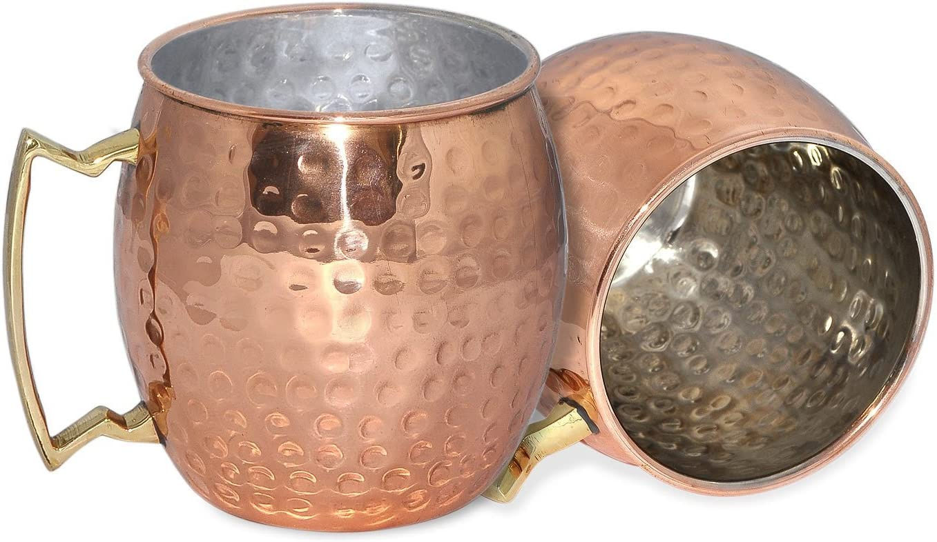 RoyaltyRoute Set of 2 Copper Beer Mug Mule Free shipping anywhere in the nation 18 Cup oz Drin All items in the store Moscow