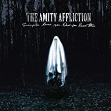 The Amity Affliction 'Everyone Loves You...Once You Leave Them' LP Vinilo a Rayas Gris Negro Claro