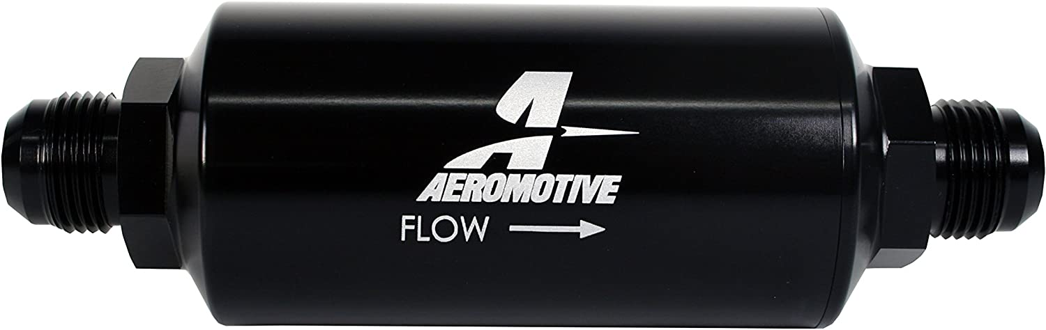 Aeromotive 12385 Filter Max 44% OFF In-Line Microglass Online limited product 10-Micron Element