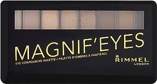 Rimmel London Magnif'eyes Eyeshadow Palette, Keep Calm & Wear Gold, 0.24 Ounce