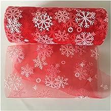 DIY ambacht, Bruiloft Sneeuwvlok Tulle Roll 10yard 15 CM Tule Brei Naaien Mesh Stof DIY Tutu Rok Verjaardag Partij Kerstde...