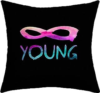 Deny Designs Jacqueline Maldonado Forever Young 2 Outdoor Throw Pillow, 16 x 16