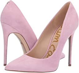 Light Pink Orchid Kid Suede Leather