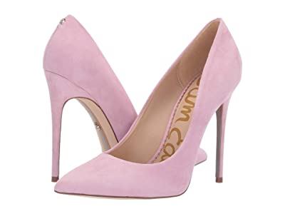 Sam Edelman Danna (Light Pink Orchid Kid Suede Leather) Women