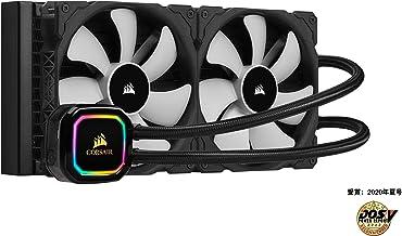 Corsair iCUE H115i RGB Pro XT, 280mm Radiator, Dual 140mm PWM Fans, Software Control, Liquid CPU Cooler