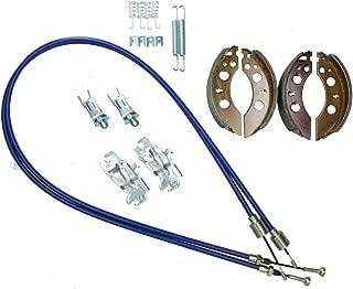 AB Tools_URB Brake Shoe & Cable Kit for Indespension Goods Trailer GT13064 GT13084 1300kg