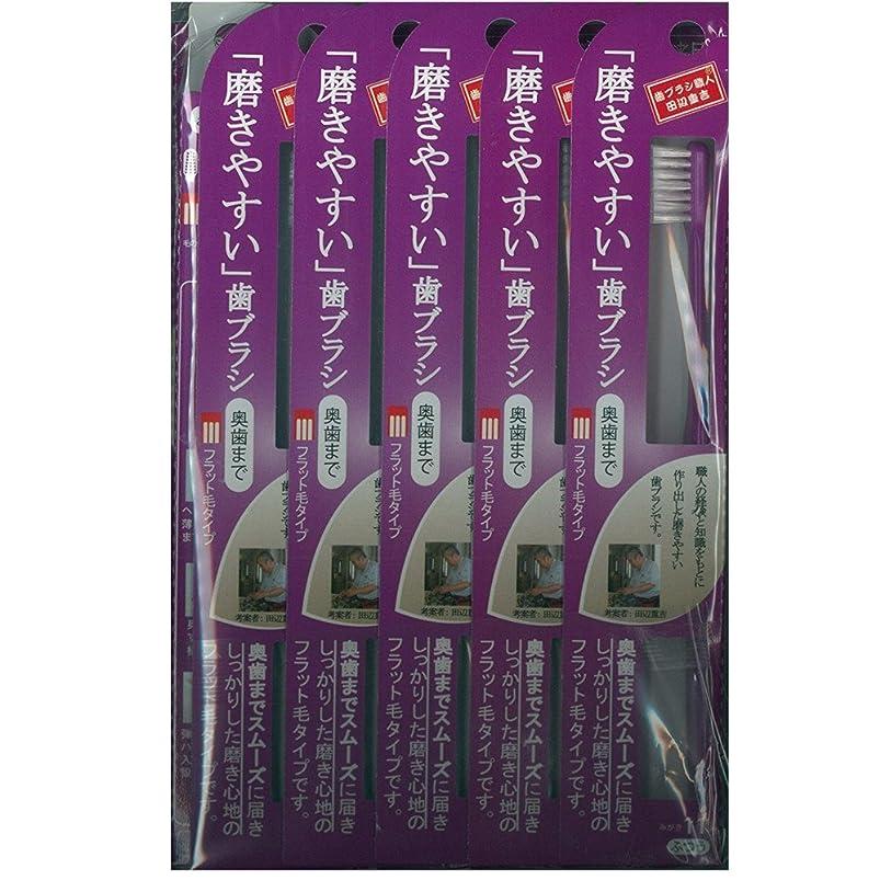 普通の満たすリース磨きやすい歯ブラシ(奥歯まで)フラット LT-11×12本セット( ピンク×4本、ブルー×4本、グリーン×2本、パープル×2本)