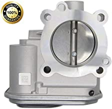 04891735AC Complete Electronic Throttle Body Assembly with IAC TPS - Fits 2.0L & 2.4L Chrysler 200, Sebring, Dodge Avenger, Caliber, Journey, Jeep Compass & Patriot - Replaces# 04891735AC, 977025, 48