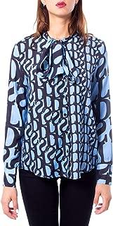 Desigual Luxury Fashion Womens 19WWCW66LIGHTBLUE Light Blue Shirt   Fall Winter 19