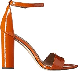Tawny Brown Goat Crinkle Patent Leather