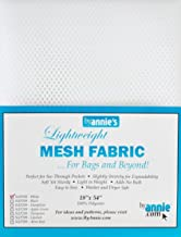 Annie Mesh Fabric Lightweight 18